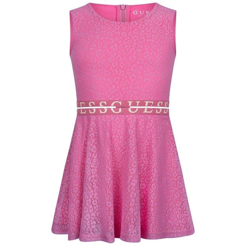 Красива детска рокля Guess K02K25WCS60