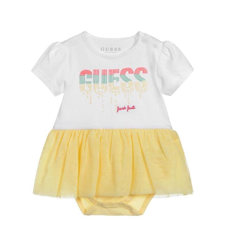 Бебешко красиво боди-рокля Guess S02G14K6YW0