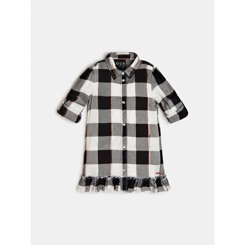 Детска спортна рокля каре Guess K0YK13WAC40