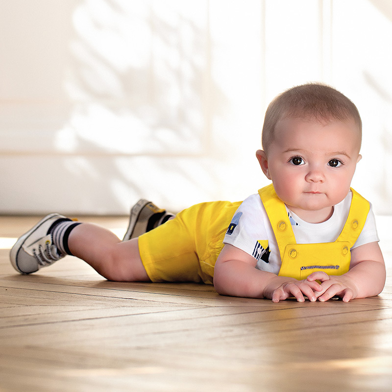Бебешки комплект гащеризон с тениска Mayoral 1681