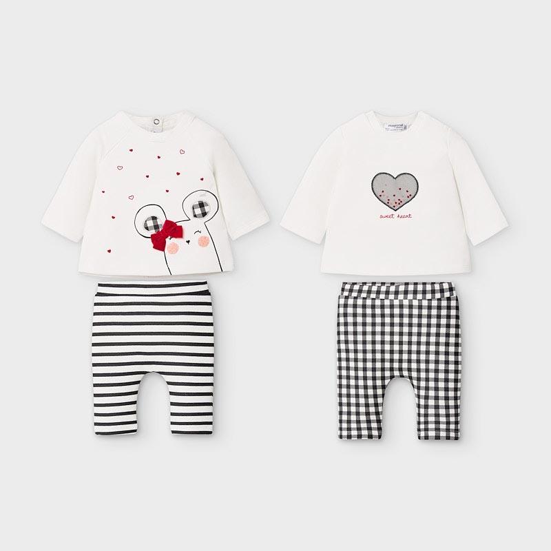 Свеж бебешки комплект Mayoral 2628