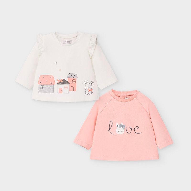 Комплект бебешки блузи Mayoral 2033