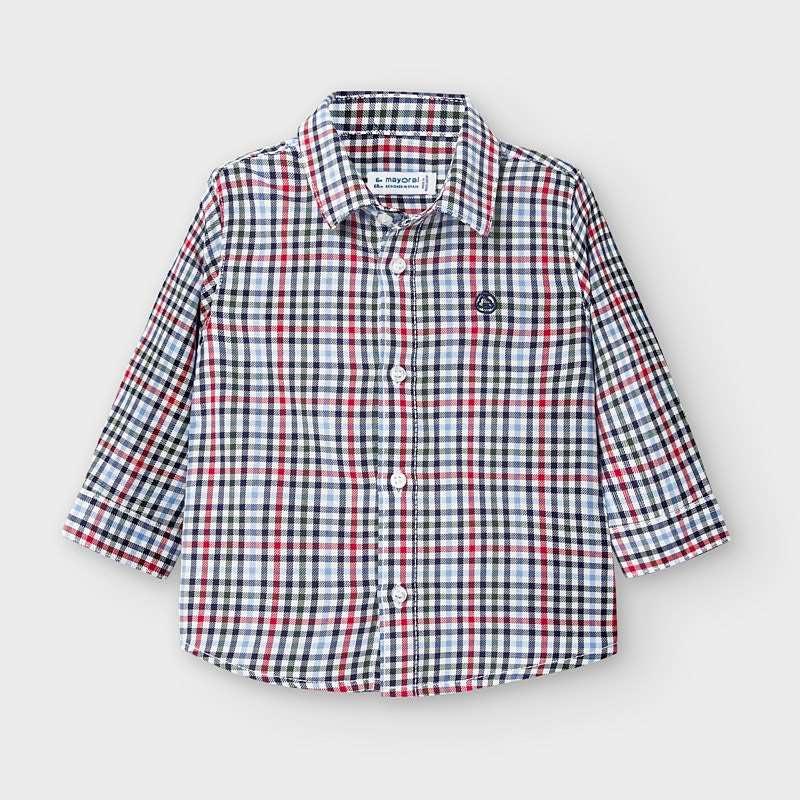Бебешка карирана риза Mayoral 2133