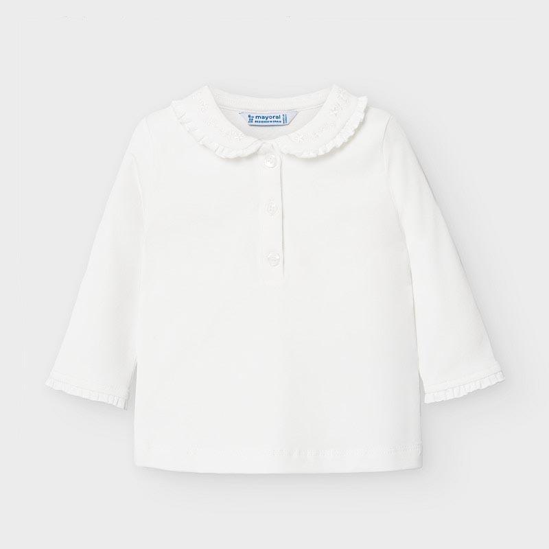 Сладка блузка с якичка Mayoral 104