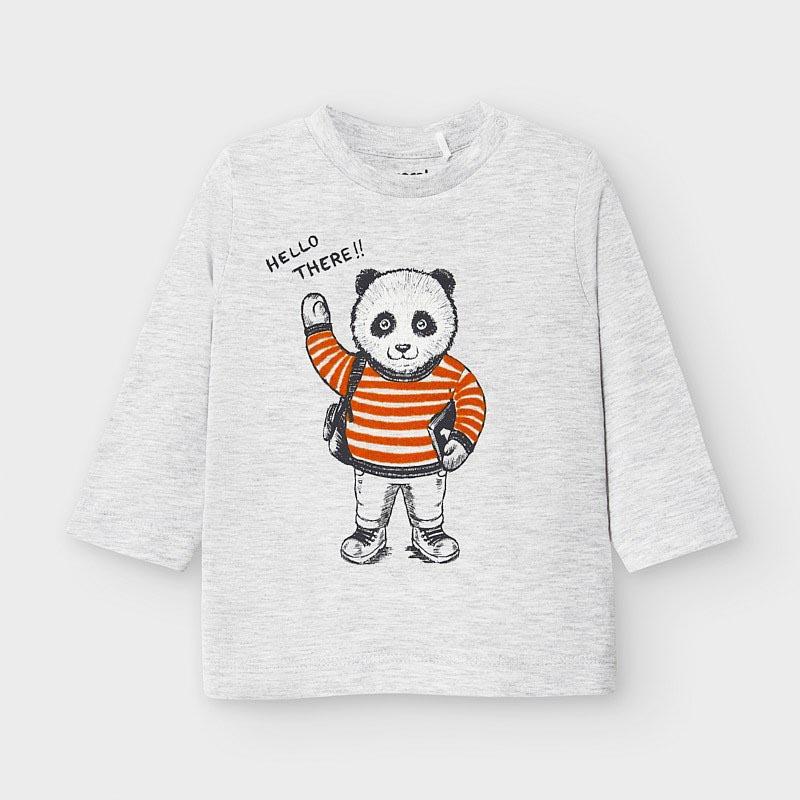 Бебешка памучна блузка Mayoral 2041