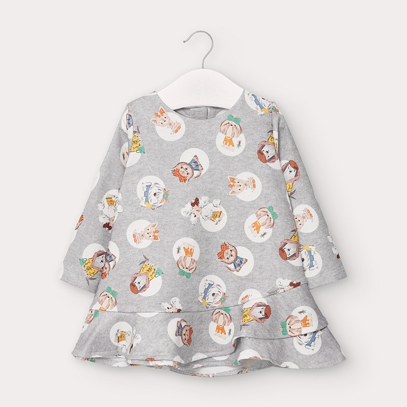 Сладка бебешка рокля с кученца Mayoral 2963