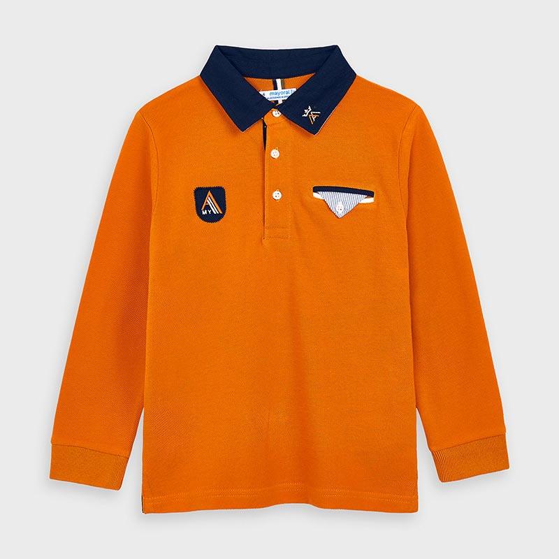 Детска спортно-елегантна поло блузка Mayoral 4128