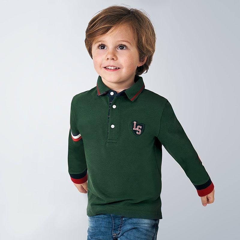 Детска спортно-елегантна поло блуза Mayoral 4134