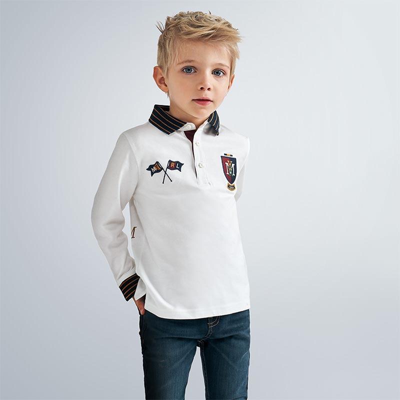 Детска спортно-елегантна поло блуза Mayoral 4136