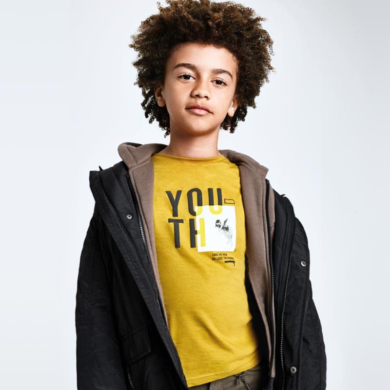 Детска спортна блуза с щампа Mayoral 7047