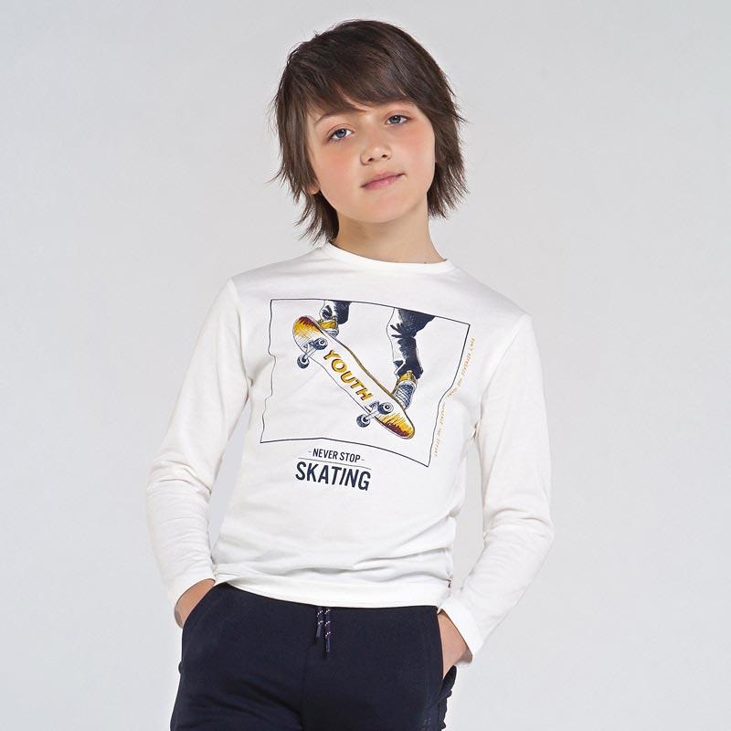 Детска спортна блуза с щампа Mayoral 7053