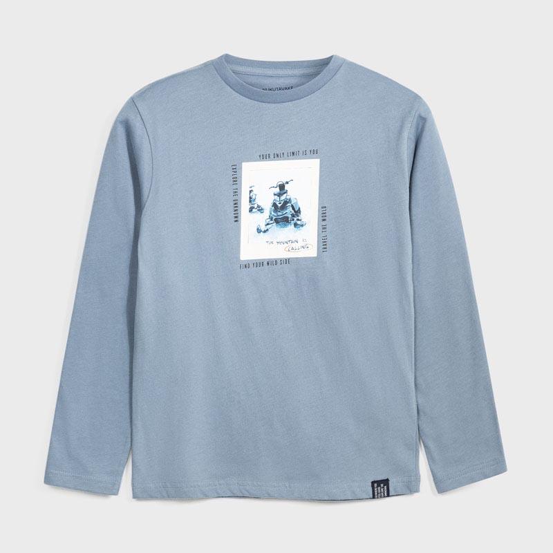 Детска спортна блуза с щампа Mayoral 7057