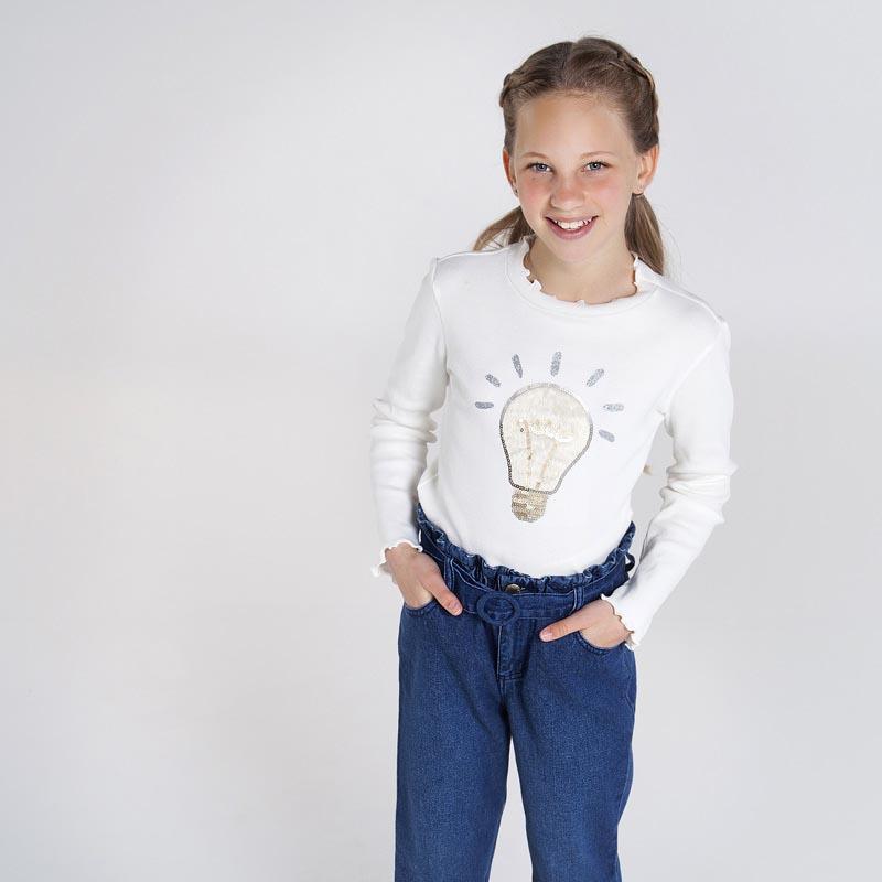 Детска красива блуза с къдрички Mayoral 7067