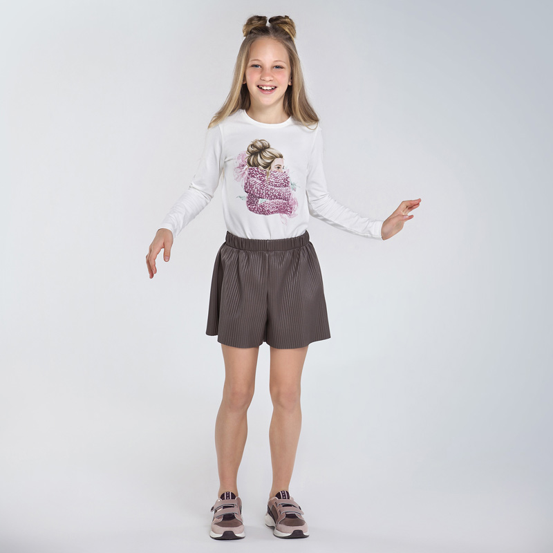 Детска красива блуза с щампа Mayoral 7070