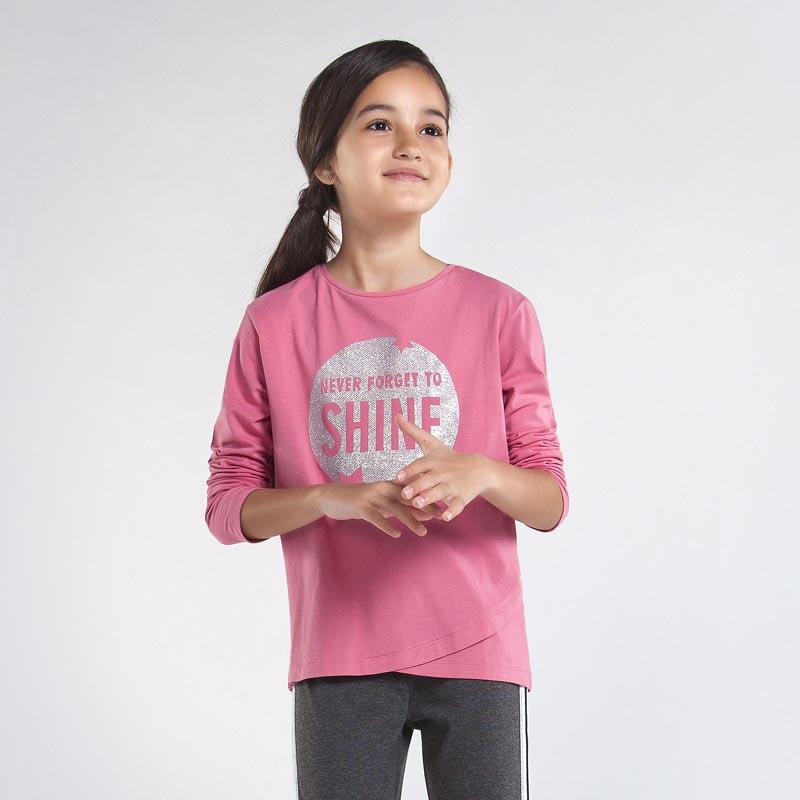 Детска красива блуза с прехлупване Mayoral 7076