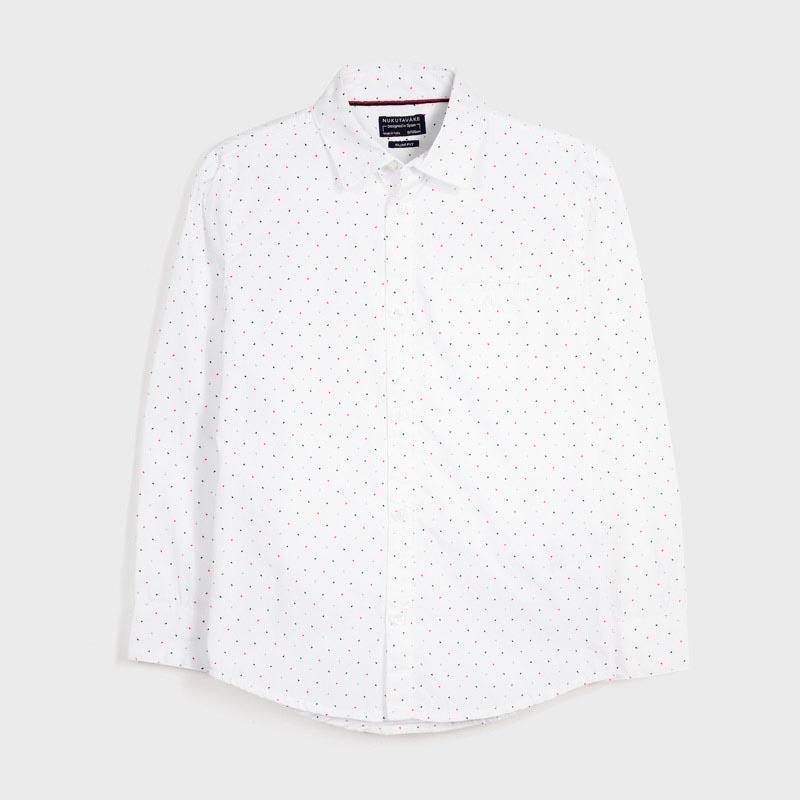 Детска стилна риза на точки Mayoral 7129