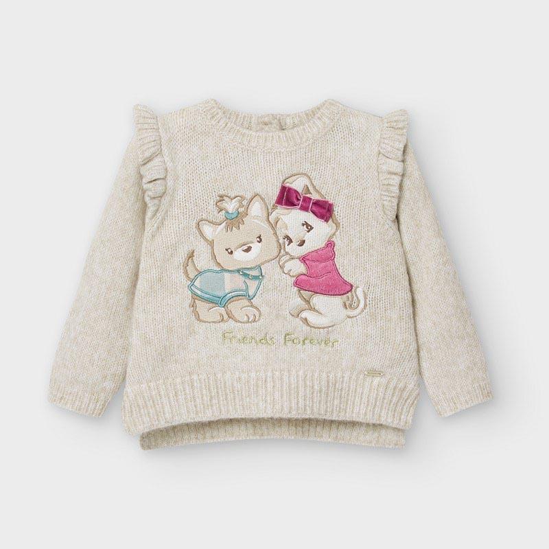 Бебешко плетено пуловерче Mayoral 2357