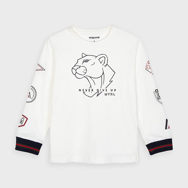 Интересна детска блузка Mayoral 4044