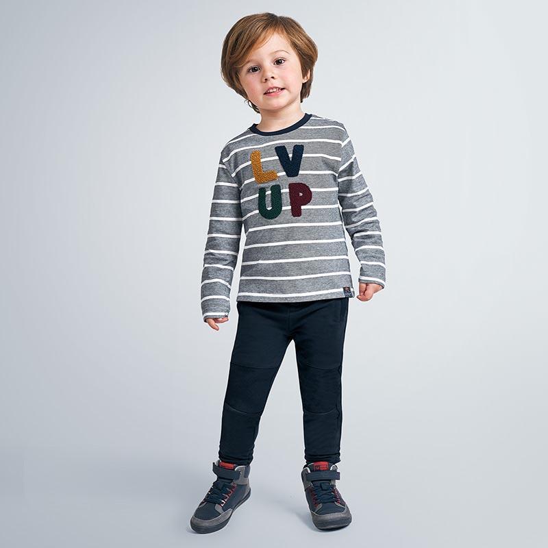 Детски спортен панталон от плюш Mayoral 4543