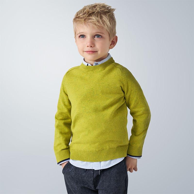 Детски пуловер от фино плетиво Mayoral 323