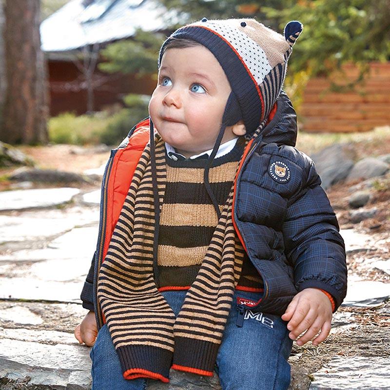 Детско есенно яке с качулка Mayoral 2487