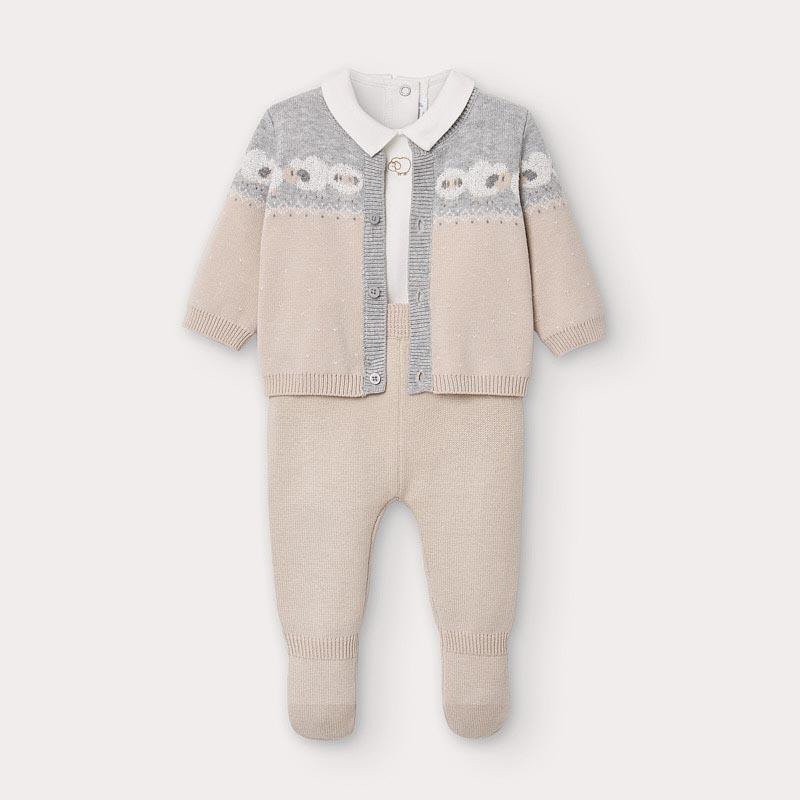 Бебешко плетено комплектче за изписване Mayoral 2559