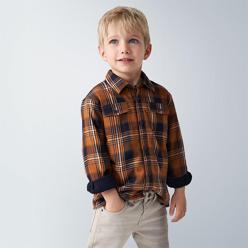 Детска спортна риза каре Mayoral 4138