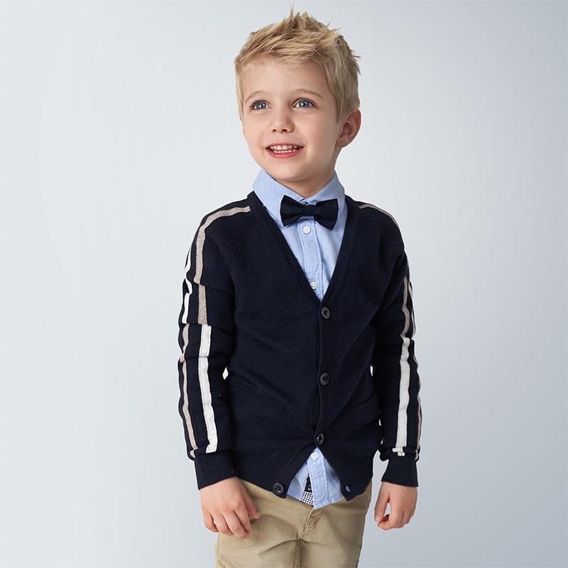 Детска фино плетена жилетка Mayoral 4339