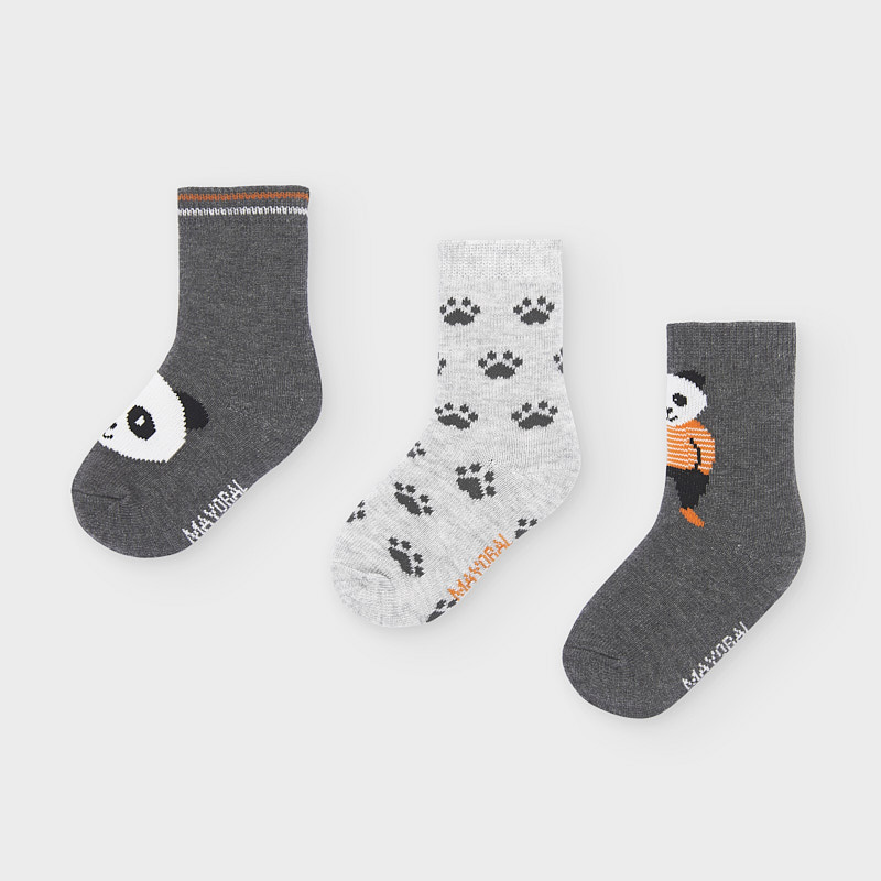 Комплект от 3 чифта чорапки за момче Mayoral 10832