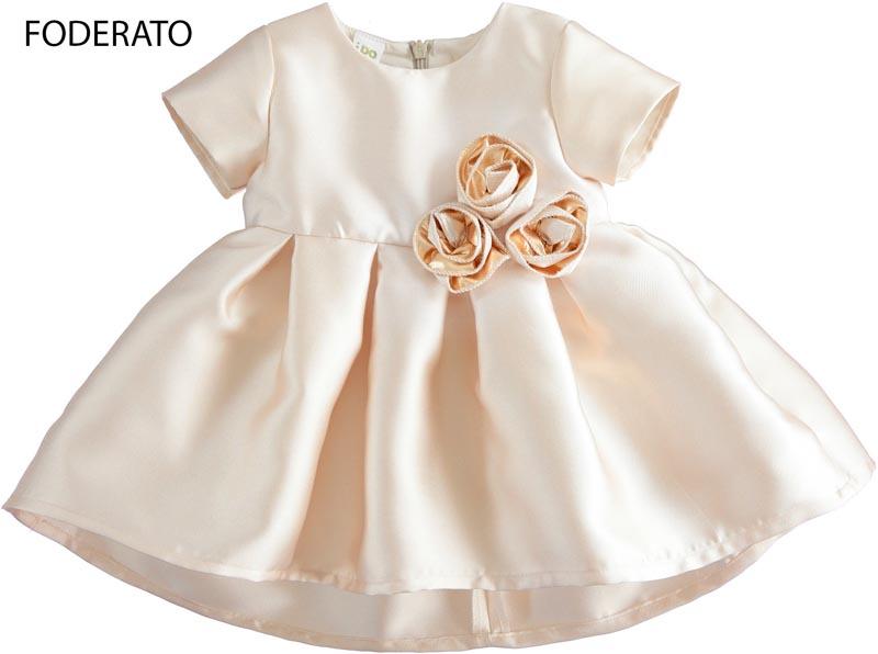 Официална рокля с масивни рози IDO 4125201