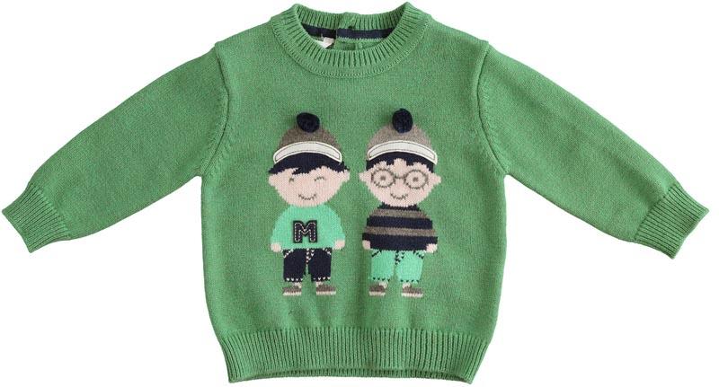 Сладко пуловерче от фино плетиво Minibanda 31617