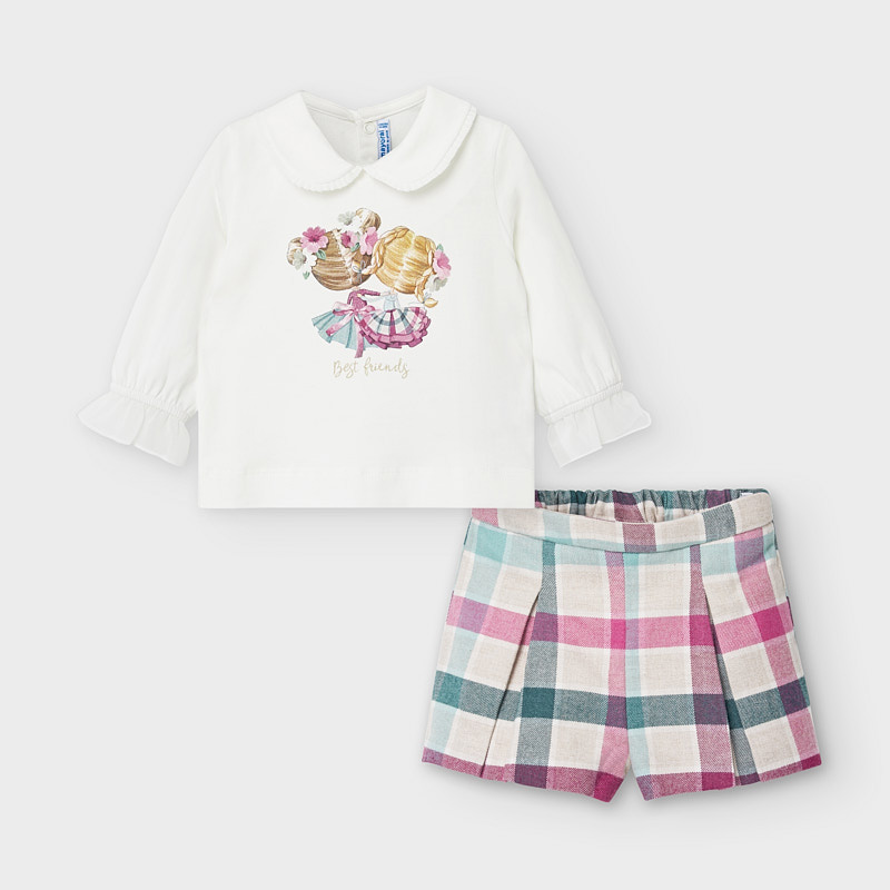 Сладък бебешки комплект от две части Mayoral 2221