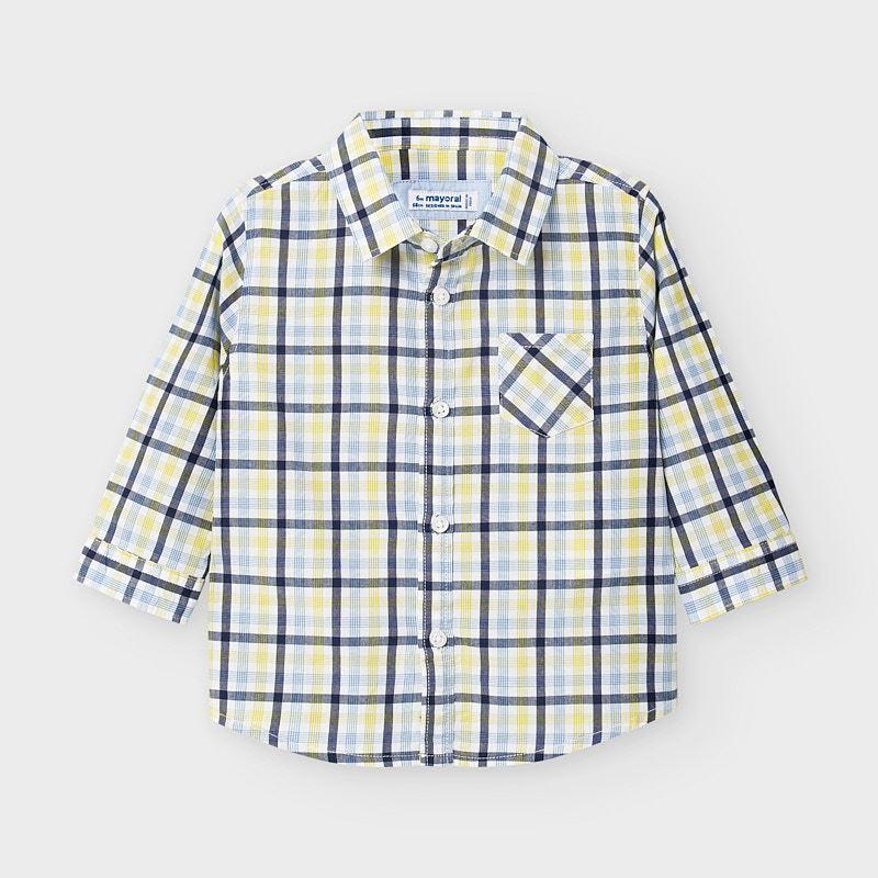 Бебешка карирана риза за момче Mayoral 2130