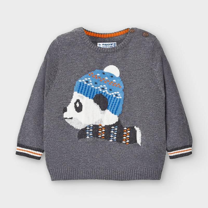 Сладко бебешко пуловерче за момче Mayoral 2346