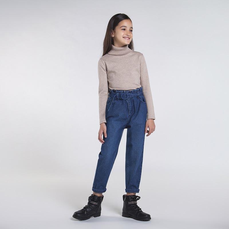 Стилен дънков панталон за момиче Mayoral 7538