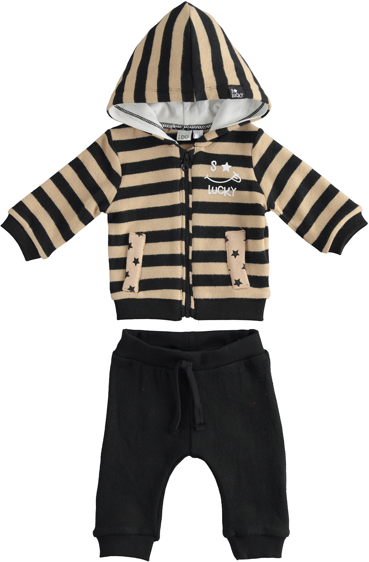 Бебешки комплект с раиран акцент IDO 41159