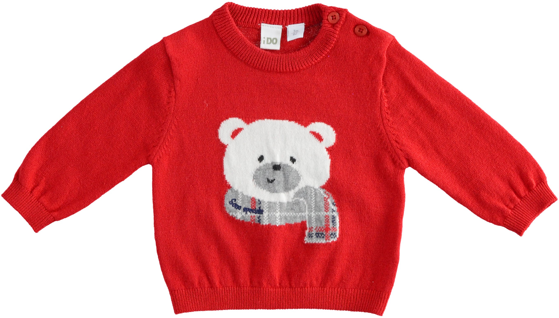 Бебешко сладко пуловерче IDO 41179