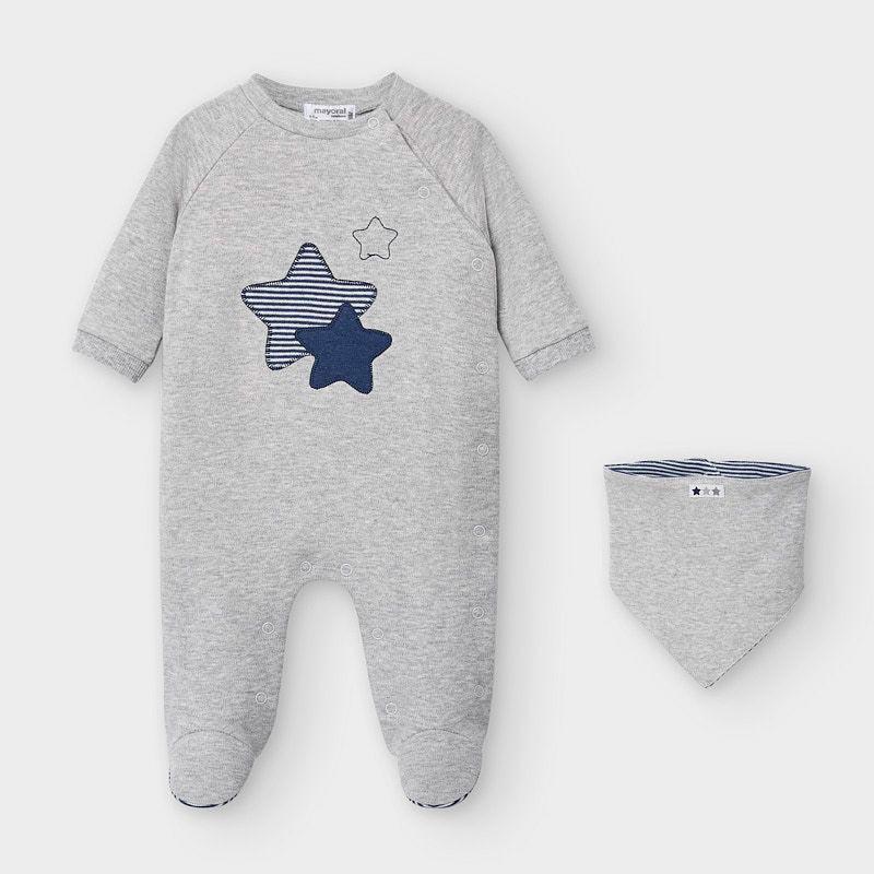 Бебешко гащеризонче и лигавник за момченце Mayoral 2769