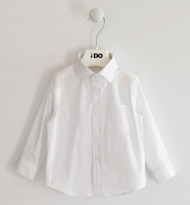 Детска класическа риза с джоб iDO 41401