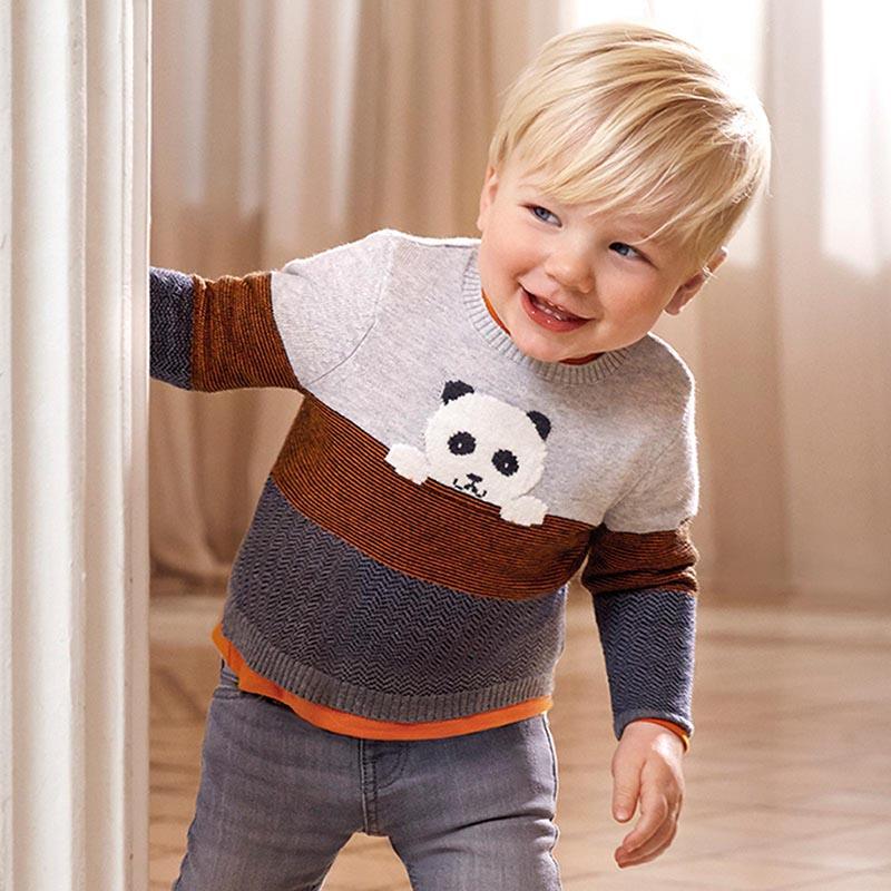 Лек бебешки пуловер Mayoral 2344