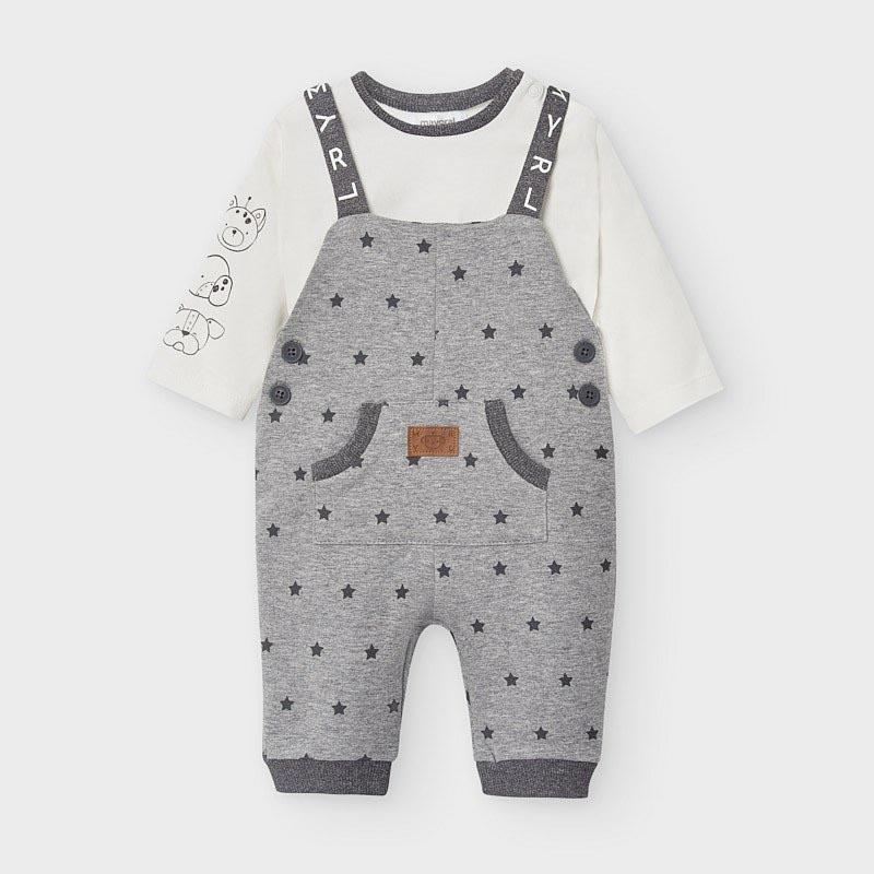 Бебешки комплект гащеризон с блузка Mayoral 2647