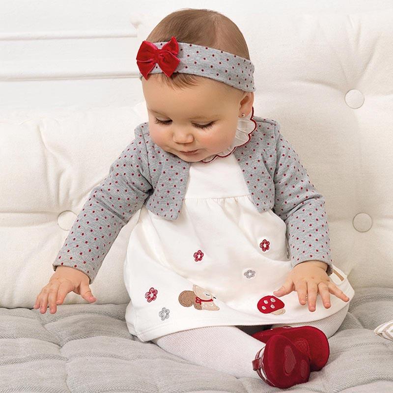 Бебешка сладка рокля с диадема Mayoral 2851