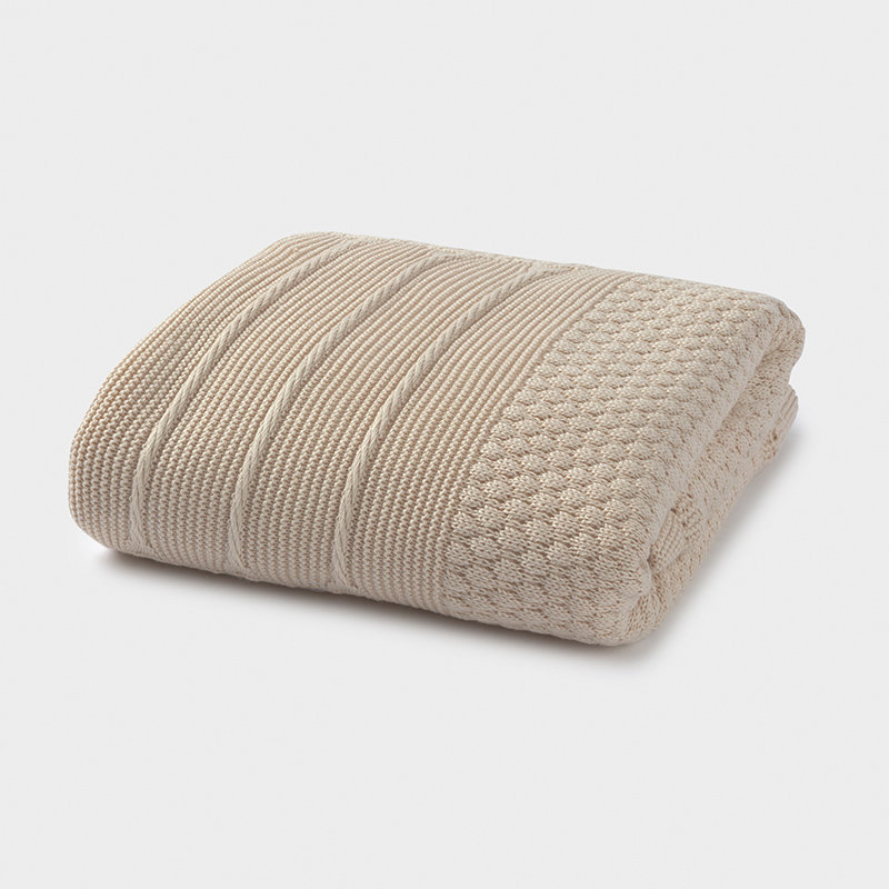 Бебешко плетено одеало с пух Mayoral 9755