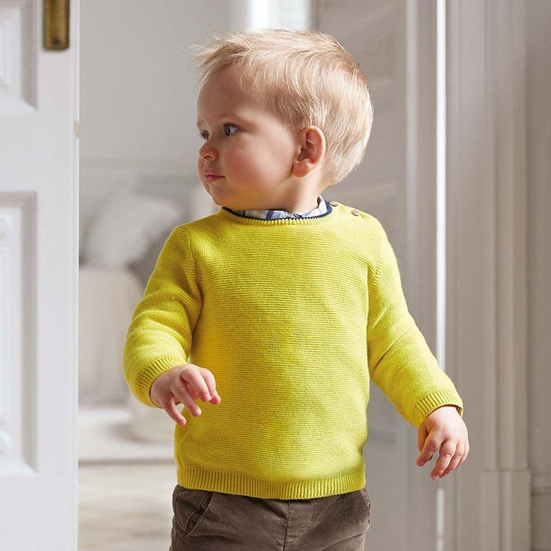 Бебешки фино плетен пуловер Mayoral 309