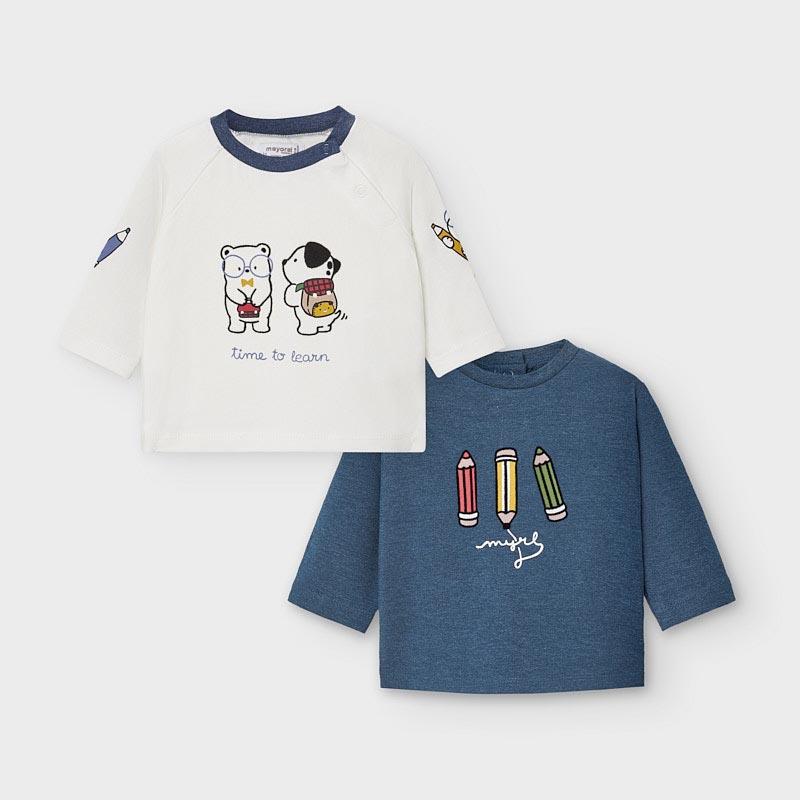 Бебешки комплект от две блузи Mayoral 2035