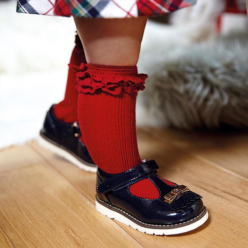 Бебешки красиви пантофки от лак Mayoral 42126