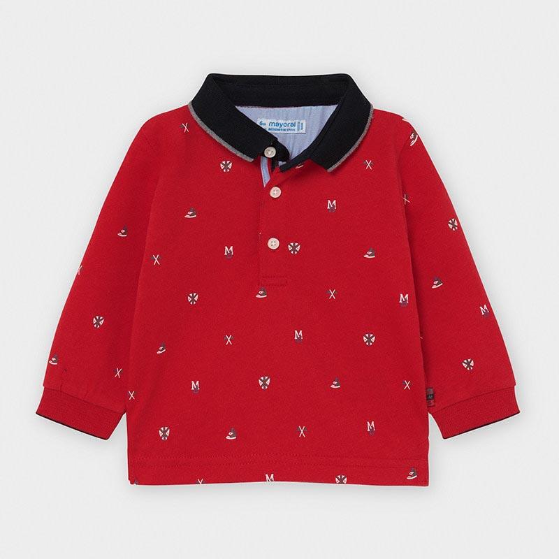Бебешка поло блуза с яка Mayoral 2124
