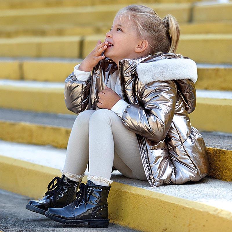 Детски зимни кубинки от лак Mayoral 44139