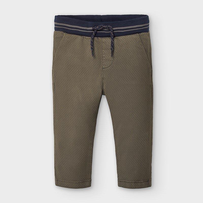 Елегантен бебешки панталон с класическа кройка Mayoral 2580