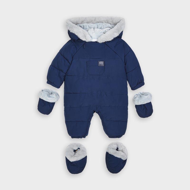 Бебешки подплатен космонавт с апликация Mayoral 2627